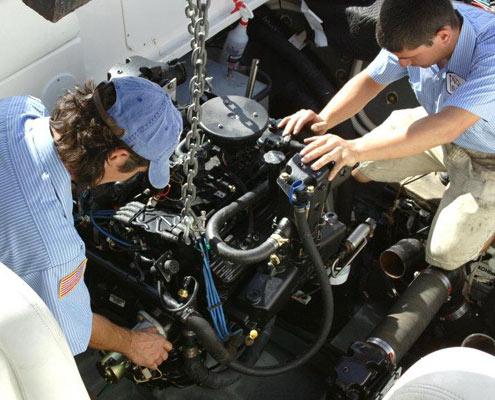 Επισκευή σκαφών Λευκάδα Νυδρί